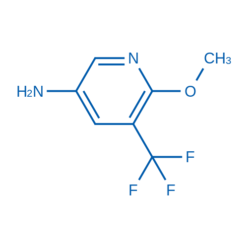 6-Methoxy-5-(trifluoromethyl)pyridin-3-amine