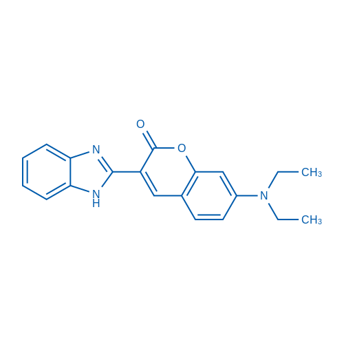 3-(1H-Benzo[d]imidazol-2-yl)-7-(diethylamino)-2H-chromen-2-one