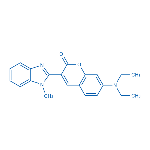 7-(Diethylamino)-3-(1-methyl-1H-benzo[d]imidazol-2-yl)-2H-chromen-2-one