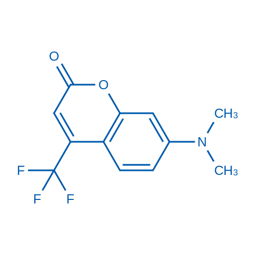 7-(Dimethylamino)-4-(trifluoromethyl)-2H-chromen-2-one