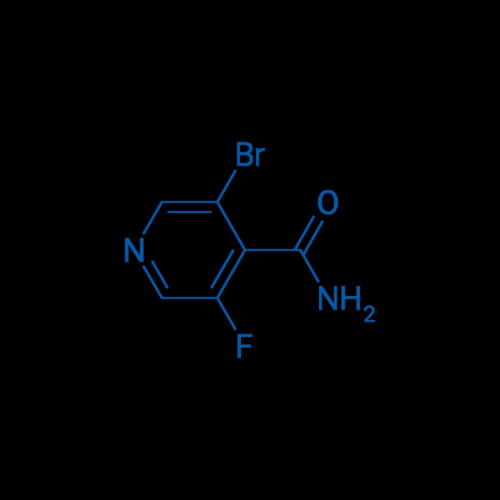 3-Bromo-5-fluoroisonicotinamide