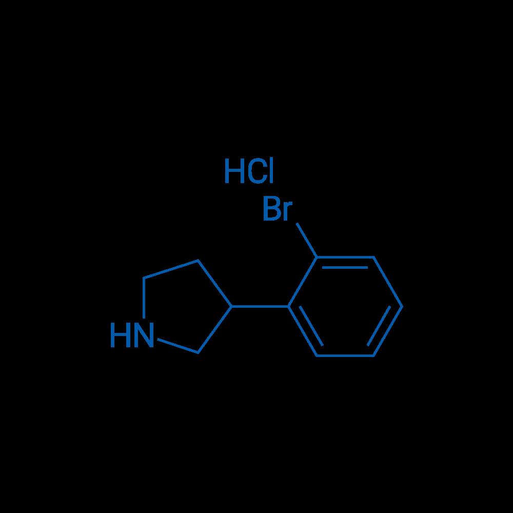 3-(2-Bromophenyl)pyrrolidine hydrochloride