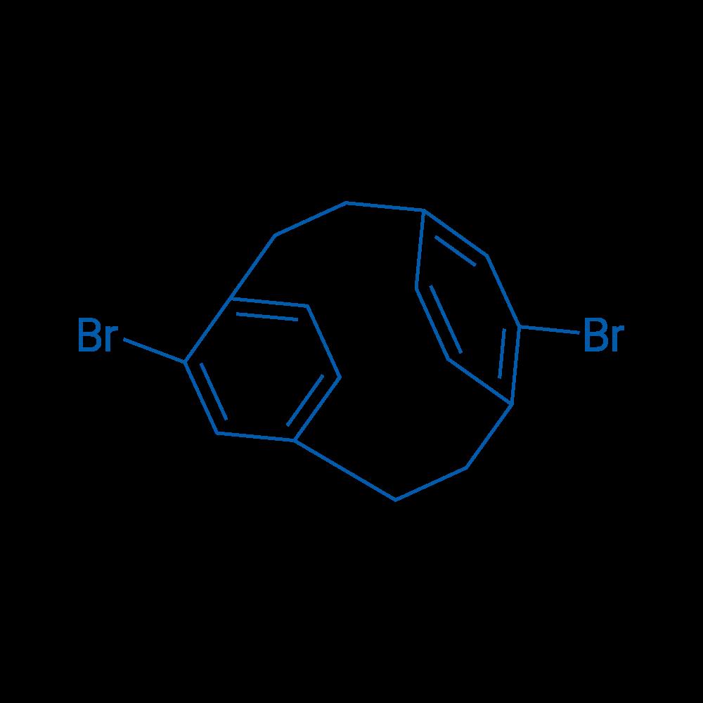 5,11-Dibromotricyclo[8.2.2.24,7]hexadeca-4,6,10,12,13,15-hexaene