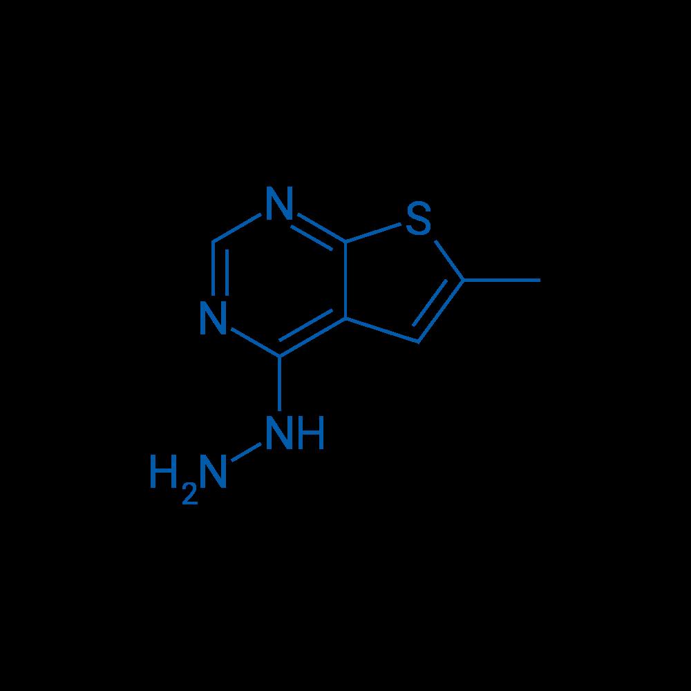 4-Hydrazinyl-6-methylthieno[2,3-d]pyrimidine