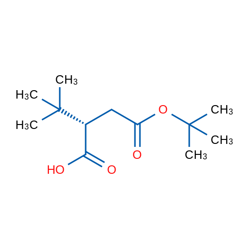 (S)-4-(tert-Butoxy)-2-(tert-butyl)-4-oxobutanoic acid