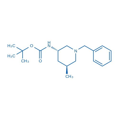 tert-Butyl ((3S,5S)-1-benzyl-5-methylpiperidin-3-yl)carbamate