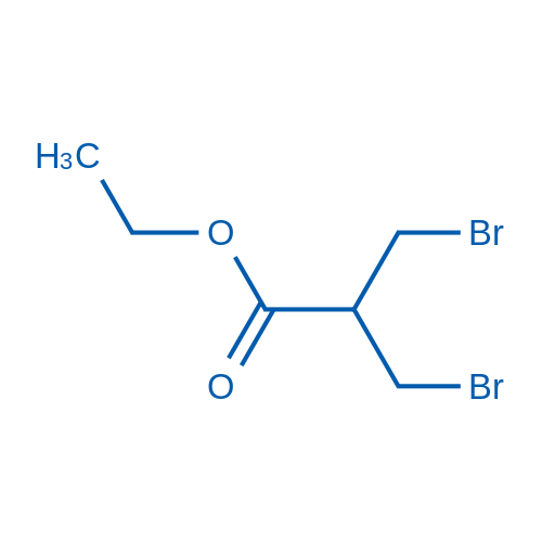 Ethyl 3-bromo-2-(bromomethyl)propanoate