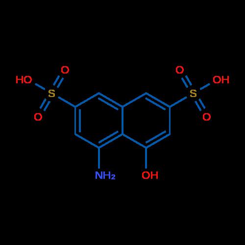 4-Amino-5-hydroxynaphthalene-2,7-disulfonic acid