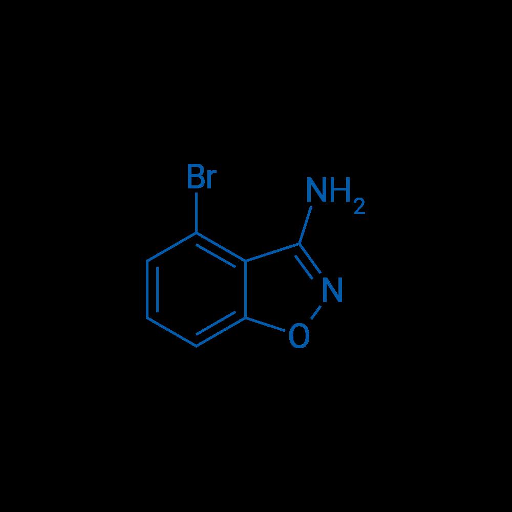 4-Bromobenzo[d]isoxazol-3-amine