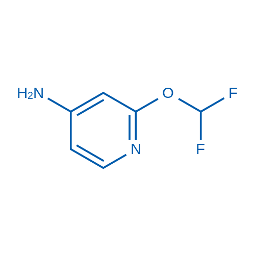 2-(Difluoromethoxy)pyridin-4-amine