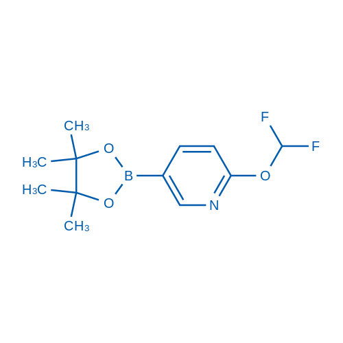 2-(Difluoromethoxy)-5-(4,4,5,5-tetramethyl-1,3,2-dioxaborolan-2-yl)pyridine