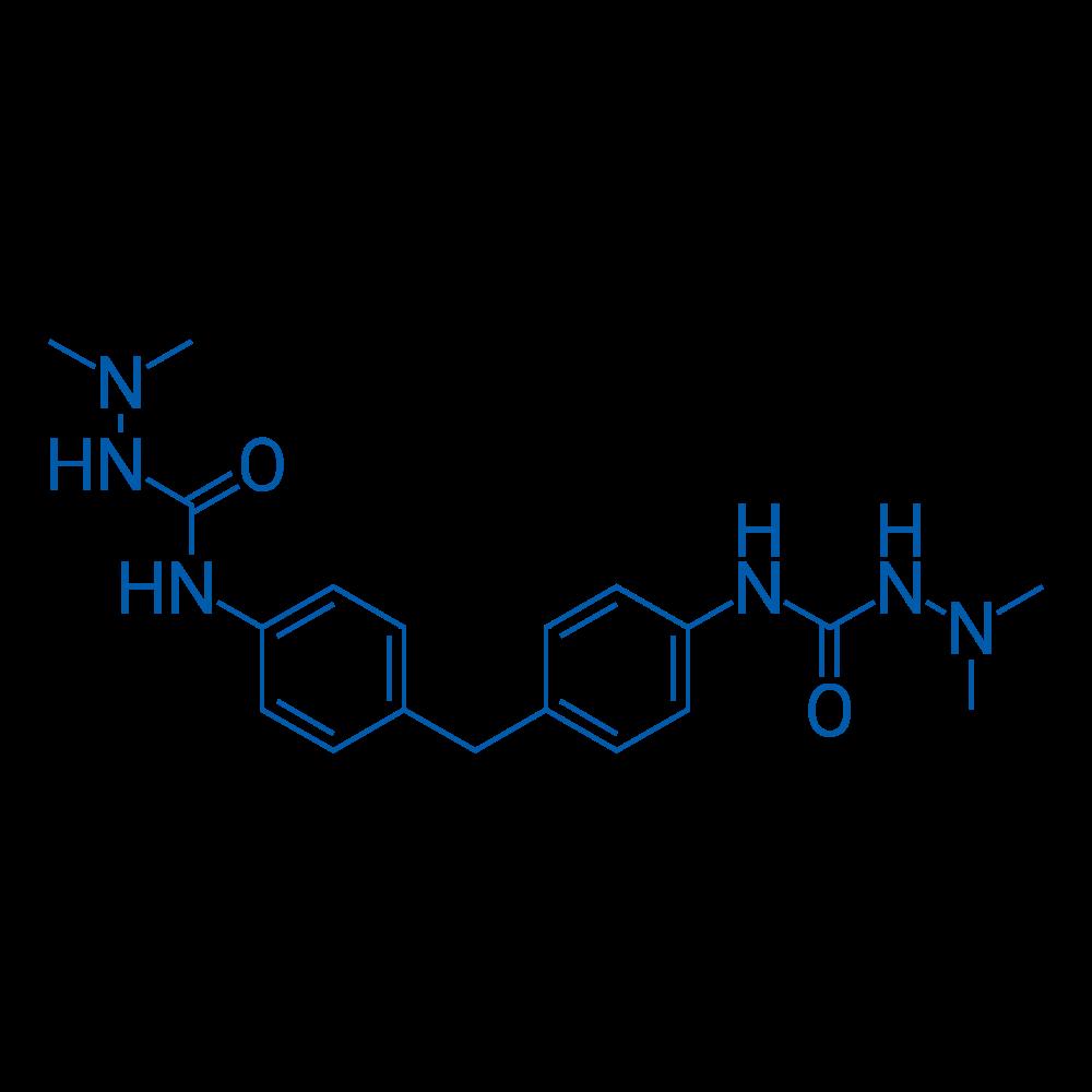 N,N'-(Methylenebis(4,1-phenylene))bis(2,2-dimethylhydrazinecarboxamide)