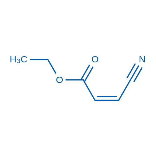Ethyl cis-(beta-cyano)acrylate