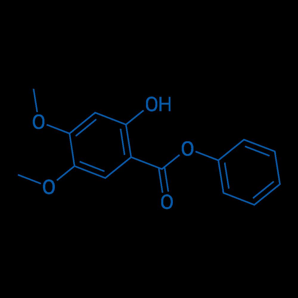 Phenyl 2-hydroxy-4,5-dimethoxybenzoate