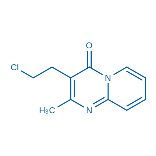 3-(2-Chloroethyl)-2-methyl-4H-pyrido[1,2-a]pyrimidin-4-one