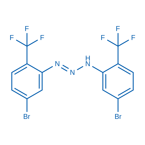 1,3-Bis(5-bromo-2-(trifluoromethyl)phenyl)triaz-1-ene