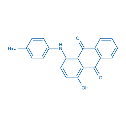 1-Hydroxy-4-(p-tolylamino)anthracene-9,10-dione