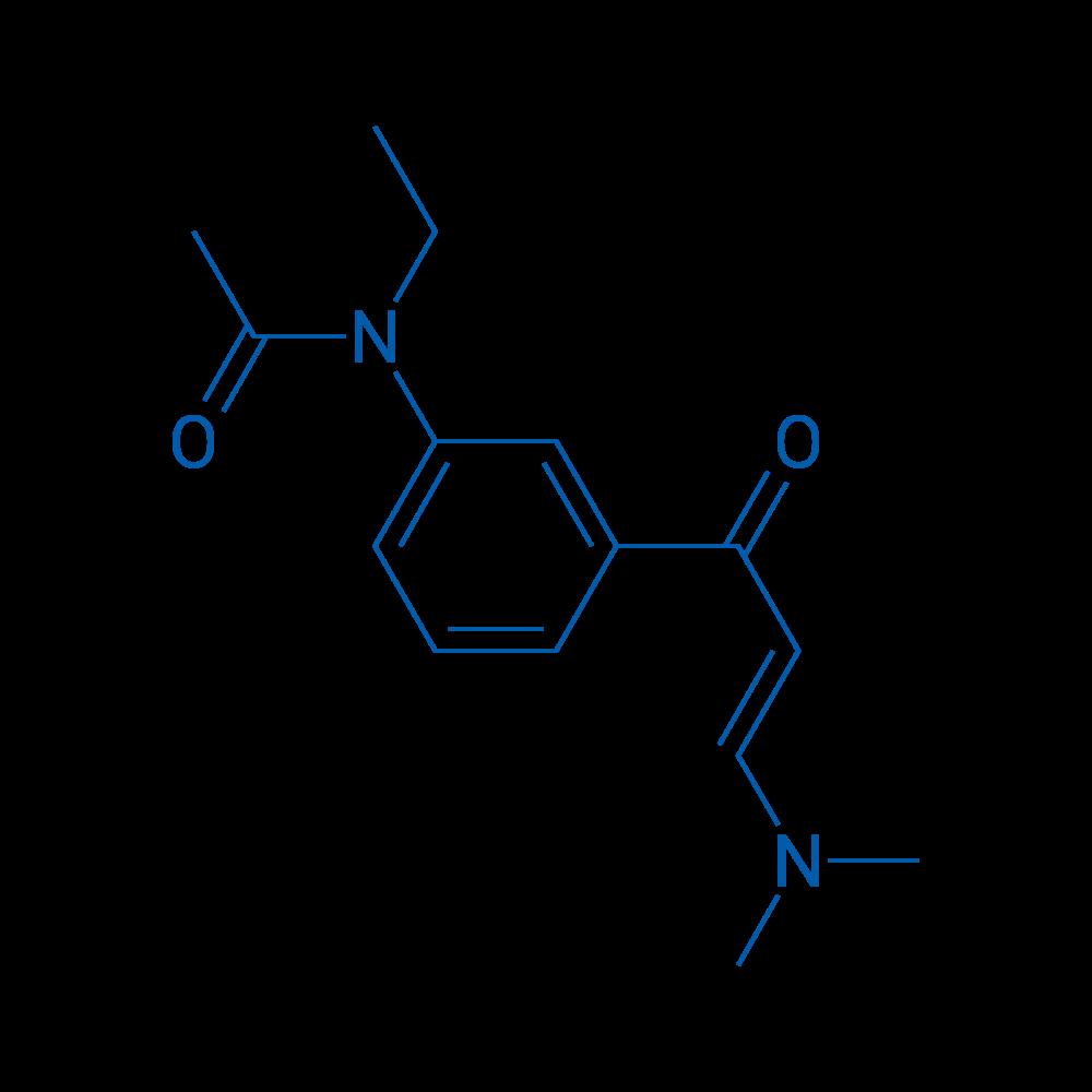N-(3-(3-(Dimethylamino)acryloyl)phenyl)-N-ethylacetamide