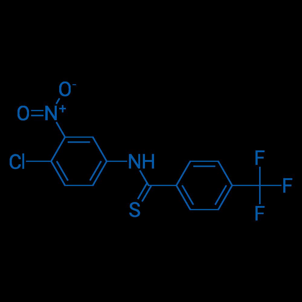 N-(4-Chloro-3-nitrophenyl)-4-(trifluoromethyl)benzothioamide