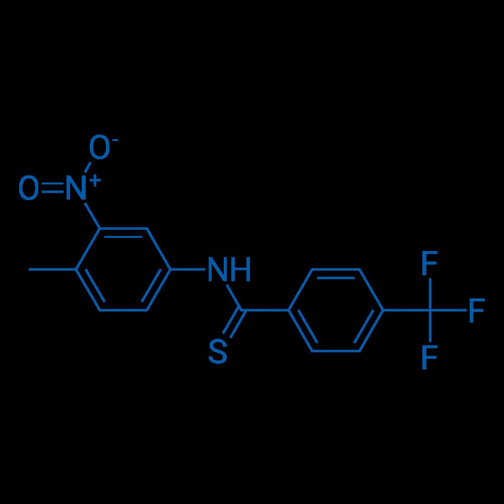N-(4-Methyl-3-nitrophenyl)-4-(trifluoromethyl)benzothioamide