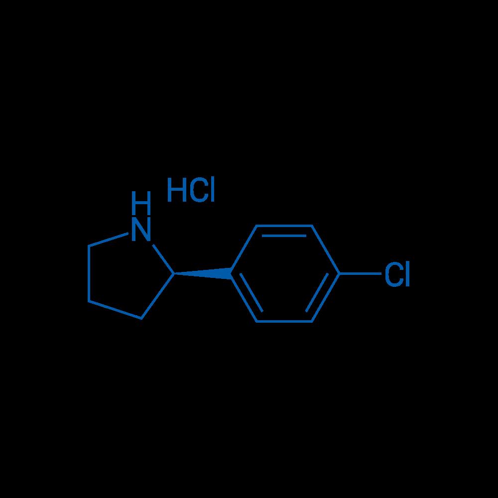 (R)-2-(4-Chlorophenyl)pyrrolidine hydrochloride