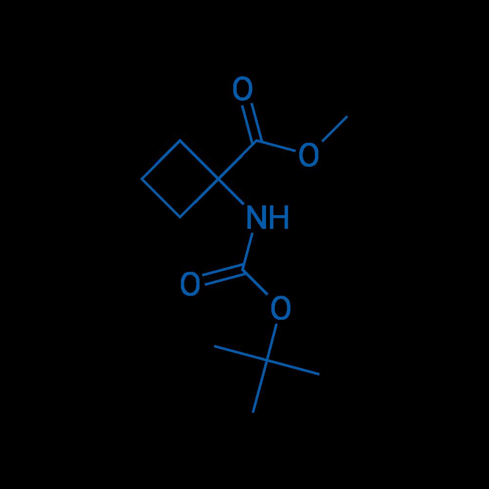Methyl 1-((tert-butoxycarbonyl)amino)cyclobutanecarboxylate