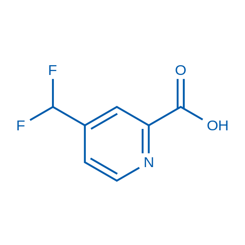 4-(Difluoromethyl)picolinic acid