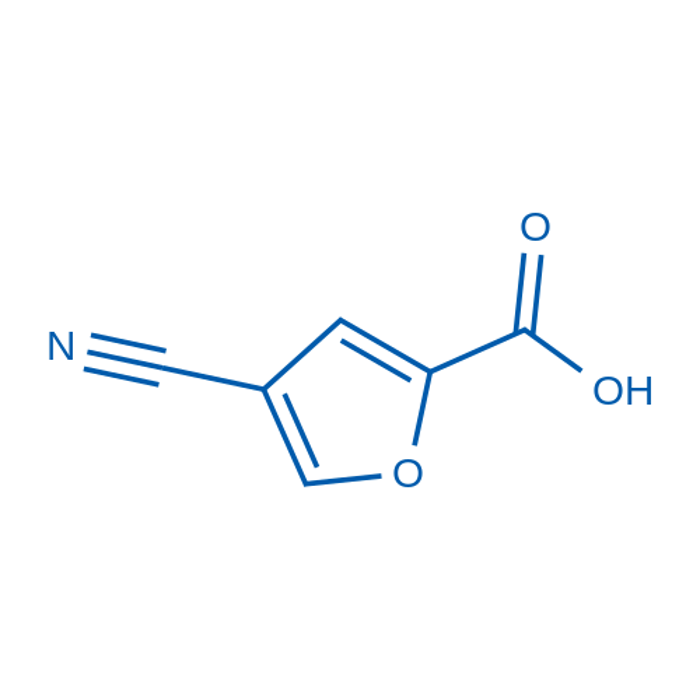 4-Cyanofuran-2-carboxylic acid