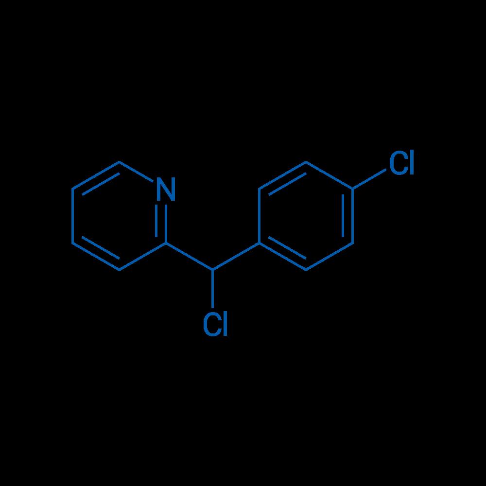 2-(Chloro(4-chlorophenyl)methyl)pyridine