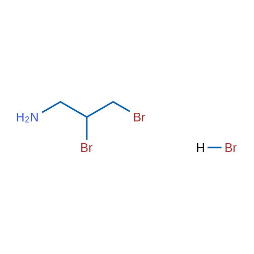 2,3-Dibromopropan-1-amine hydrobromide