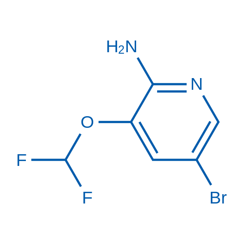 5-Bromo-3-(difluoromethoxy)pyridin-2-amine