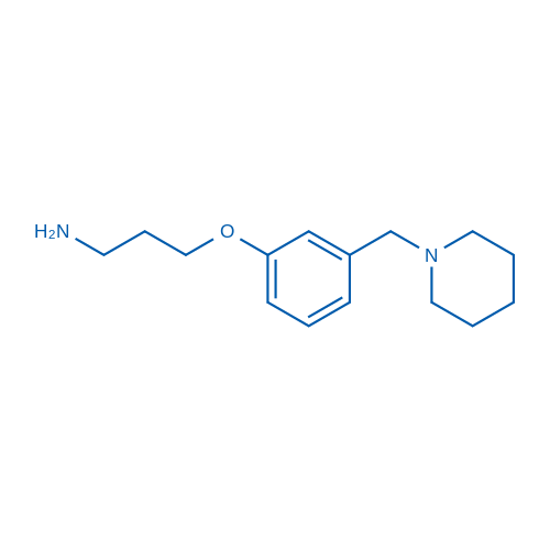3-(3-(Piperidin-1-ylmethyl)phenoxy)propan-1-amine