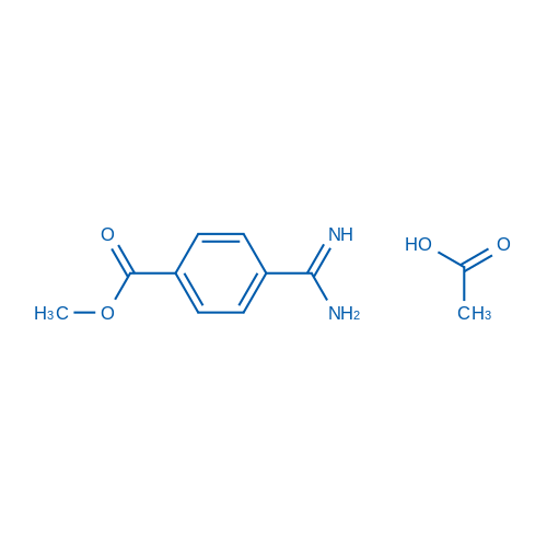 Methyl 4-carbamimidoylbenzoate acetate