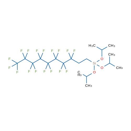 (3,3,4,4,5,5,6,6,7,7,8,8,9,9,10,10,10-Heptadecafluorodecyl)triisopropoxysilane