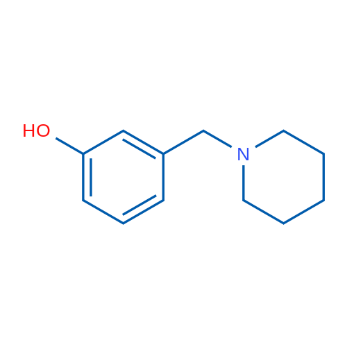 3-(Piperidin-1-ylmethyl)phenol