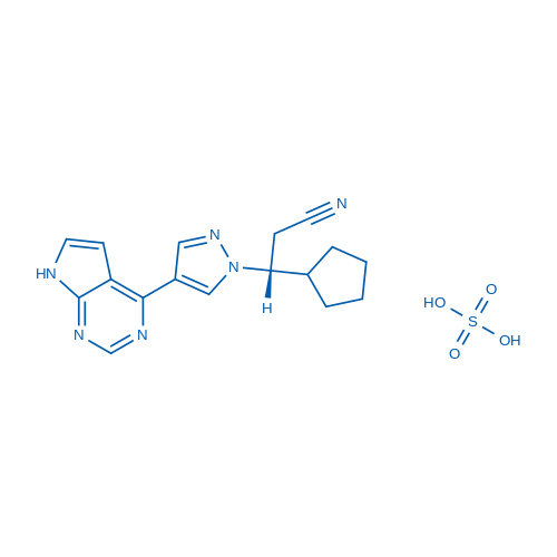 Ruxolitinib sulfate