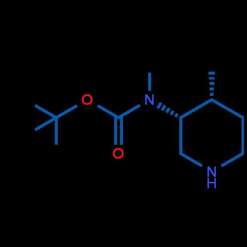 tert-Butyl methyl((3R,4R)-4-methylpiperidin-3-yl)carbamate