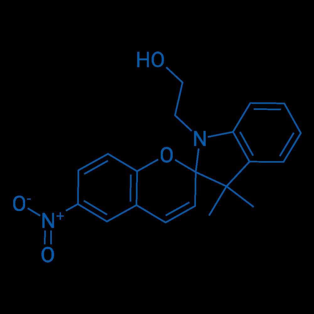 2-(3',3'-Dimethyl-6-nitrospiro[chromene-2,2'-indolin]-1'-yl)ethanol