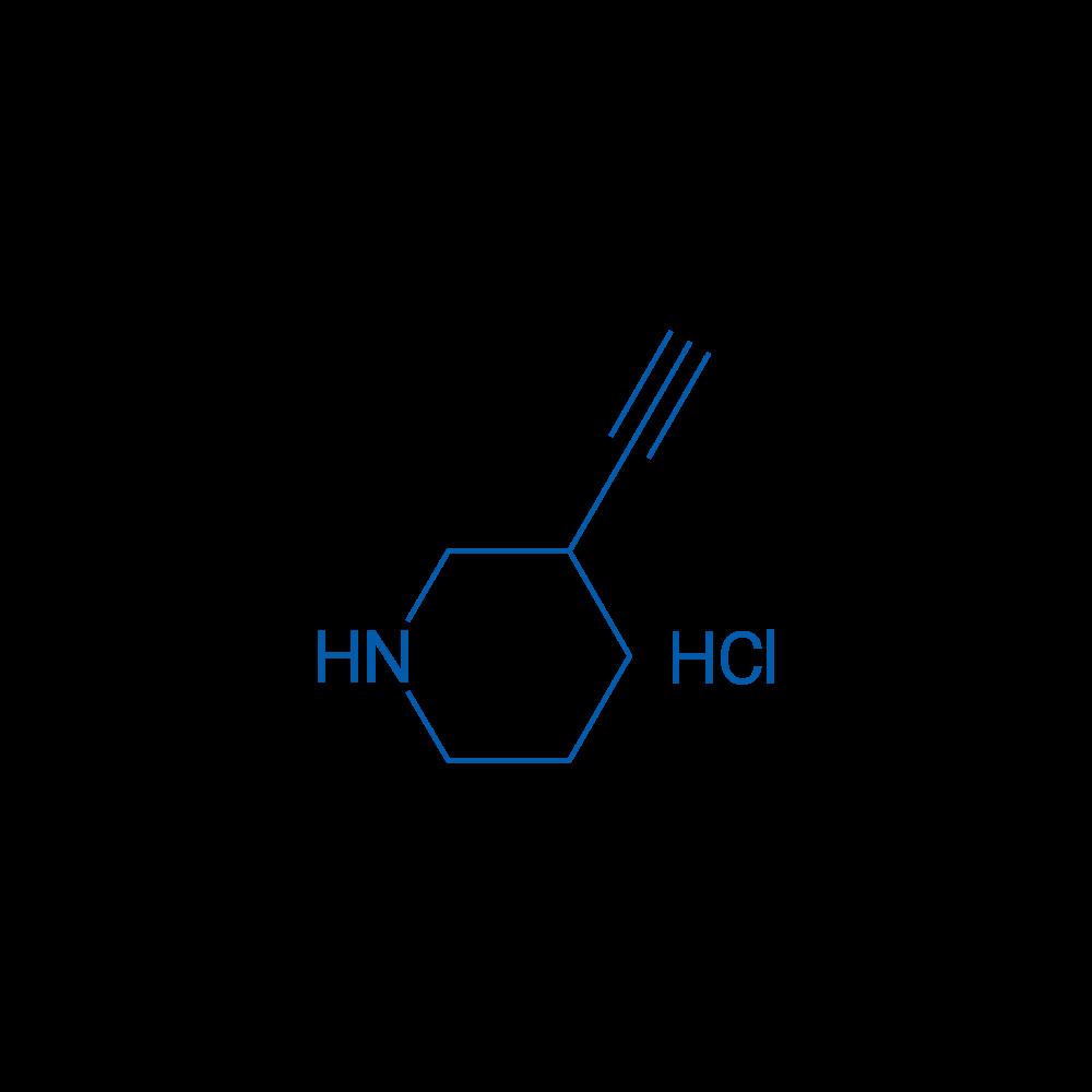 3-Ethynylpiperidine hydrochloride