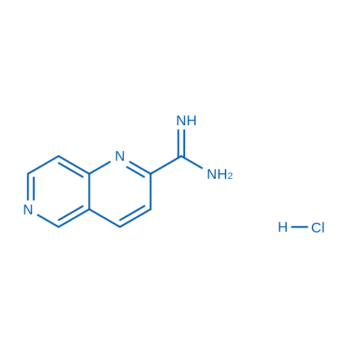 1,6-Naphthyridine-2-carboximidamide hydrochloride