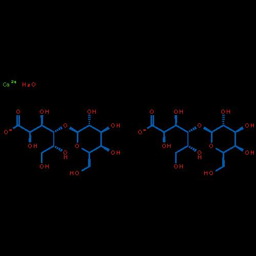 Calcium lactobionate xhydrate