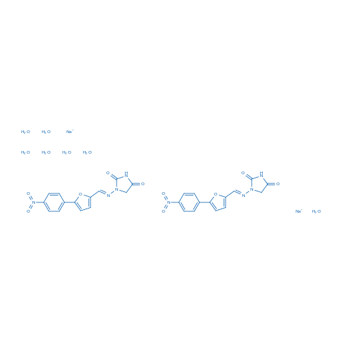 Dantrolene sodium hemiheptahydrate
