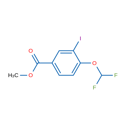 Methyl 4-(difluoromethoxy)-3-iodobenzoate