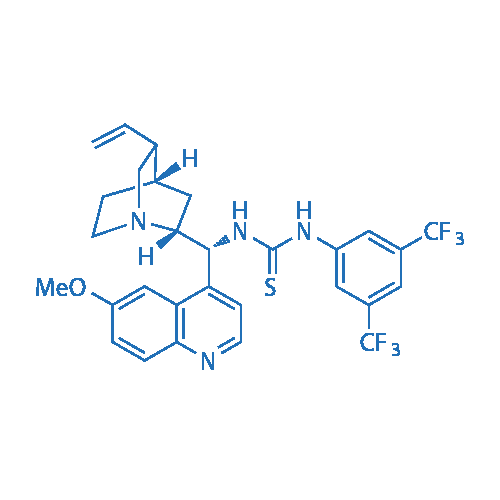 1-(3,5-Bis(trifluoromethyl)phenyl)-3-((1R)-(6-methoxyquinolin-4-yl)((2R,4S,5R)-5-vinylquinuclidin-2-yl)methyl)thiourea