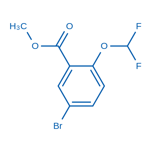Methyl 5-bromo-2-(difluoromethoxy)benzoate