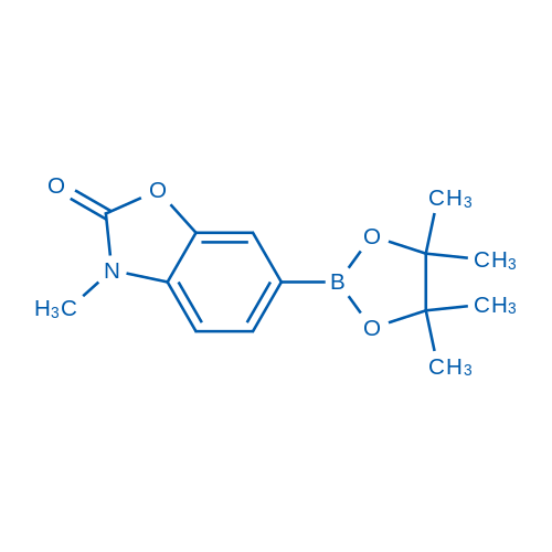 3-Methyl-6-(4,4,5,5-tetramethyl-1,3,2-dioxaborolan-2-yl)benzo[d]oxazol-2(3H)-one