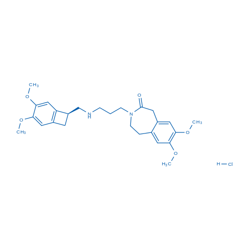 Ivabradine metabolite N-Demethyl Ivabradine hydrochloride