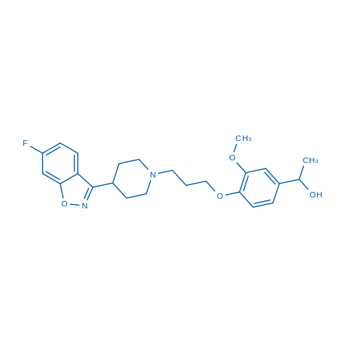 Iloperidone metabolite Hydroxy Iloperidone