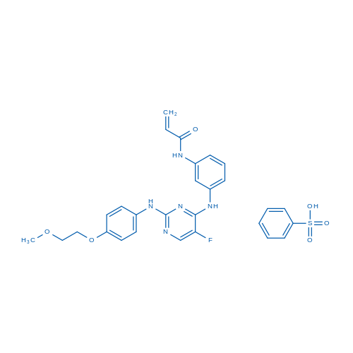AVL-292 benzenesulfonate