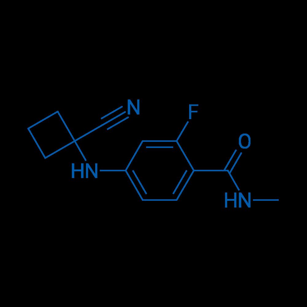 4-((1-Cyanocyclobutyl)amino)-2-fluoro-N-methylbenzamide